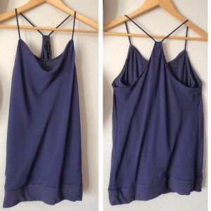 Express draped tank top